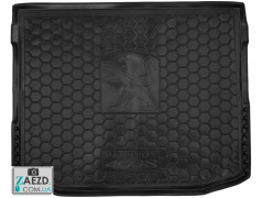 Коврик в багажник Peugeot 4008 12-17, резиновый (Avto Gumm)