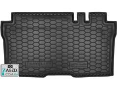 Коврик в багажник Peugeot Traveller 16- комплектация Business / Active, резиновый (Avto Gumm)