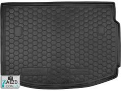 Коврик в багажник Renault Megane 3 08-16 хетчбэк, резиновый (Avto Gumm)