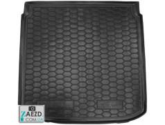 Коврик в багажник Seat Altea XL 06-15 нижняя полка, резиновый (Avto Gumm)