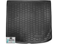 Коврик в багажник Seat Altea XL 06-15 верхняя полка, резиновый (Avto Gumm)