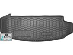 Коврик в багажник Skoda Kodiaq 16- 7 мест, малый, резиновый (Avto Gumm)