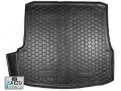 Коврик в багажник Skoda Octavia A5 04-12 лифтбэк, резиновый (Avto Gumm)