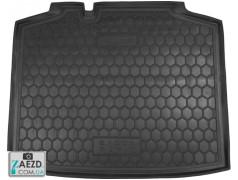 Коврик в багажник Skoda Rapid Spaceback 11- резиновый (Avto Gumm)