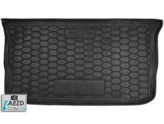 Коврик в багажник Smart Forfour 453 14- резиновый (Avto Gumm)