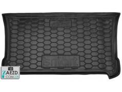 Коврик в багажник Smart Fortwo 453 14- резиновый (Avto Gumm)