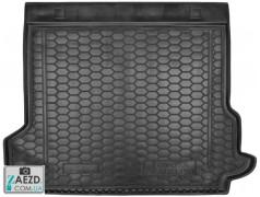 Коврик в багажник Toyota Prado 150 17- 5 мест, резиновый (Avto Gumm)