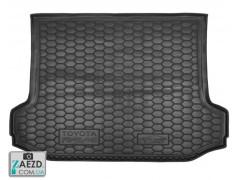 Коврик в багажник Toyota RAV4 3 05-13, резиновый (Avto Gumm)