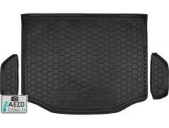 Коврик в багажник Toyota RAV4 4 13-19 с запаской, резиновый (Avto Gumm)