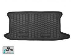 Коврик в багажник Toyota Yaris 2 06-11, резиновый (Avto Gumm)