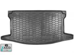 Коврик в багажник Toyota Yaris 3 14- верхняя полка, резиновый (Avto Gumm)