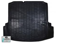 Коврик в багажник VW Jetta 6 10-18 с ушами, резиновый (Avto Gumm)