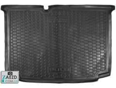 Коврик в багажник VW Polo 5 09-17 хэтчбек, резиновый (Avto Gumm)