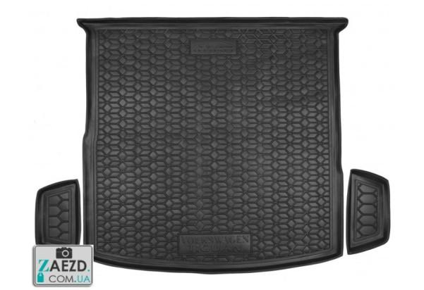 Коврик в багажник VW Tiguan Allspace 17- 5мест, резиновый (Avto Gumm)