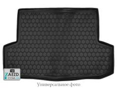 Коврик в багажник JAC J5 09- резиновый (Avto Gumm)