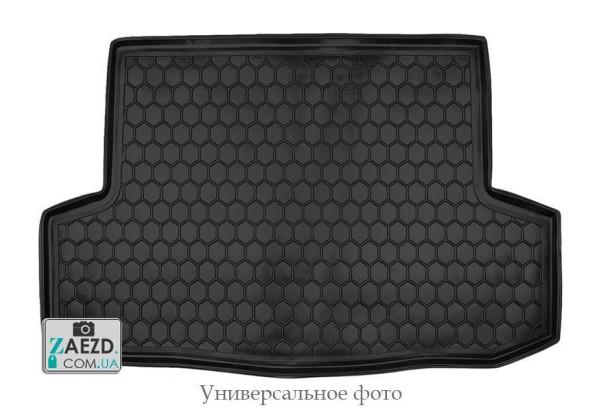 Коврик в багажник Geely Emgrand EC7-RV 11-19 хетчбэк, резиновый (Avto Gumm)