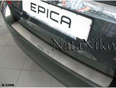 Накладки на бампер Chevrolet Epica 06-13 (NataNiko - Premium)